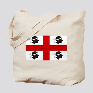 Flag of Sardinia Tote Bag
