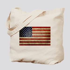 American Distress Flag Tote Bag