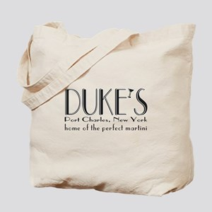 Black DUKE Martini Tote Bag