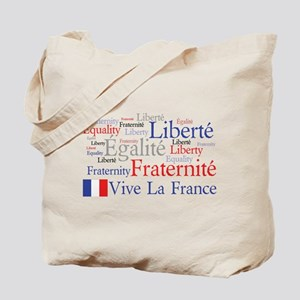 France - Liberty, Equality, F Tote Bag
