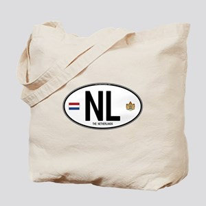 Netherlands Intl Oval Tote Bag
