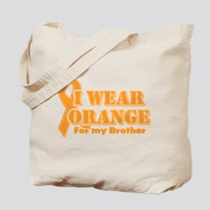 I wear orange brother Tote Bag