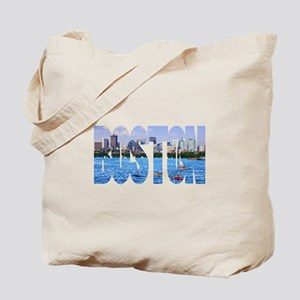 Boston Back Bay Skyline Tote Bag
