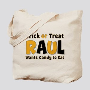 Raul Trick or Treat Tote Bag