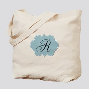 Teal Monogram by LH Tote Bag