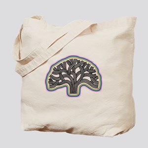 Oakland Tree Rainbow Halo Tote Bag