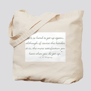 Its so hard to get up again Tote Bag