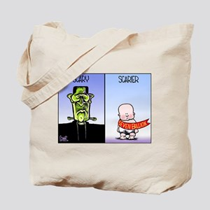 Scary Population Milestone Tote Bag