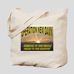 Operation New Dawn Tote Bag