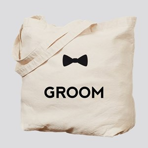 Groom with bow tie Tote Bag