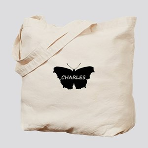 Charles Butterfly Tote Bag