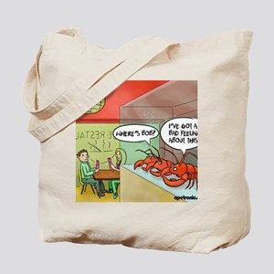 A bad feeling Tote Bag