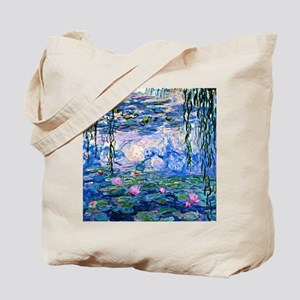 Monet - Water Lilies, 1919 Tote Bag