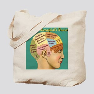 Inside a Therapists Brain Tote Bag