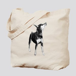 Miniature Pinscher Sketch Tote Bag