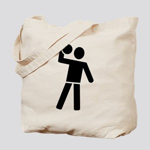 Dodgeball player Tote Bag