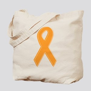 Orange Aware Ribbon Tote Bag