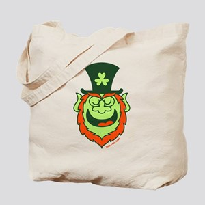 St Paddy's Day Leprechaun Speaking Tote Bag