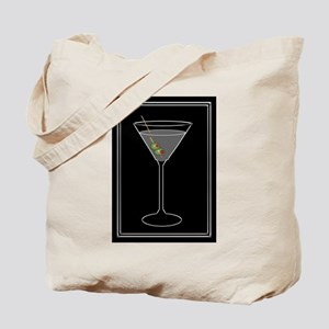 Modern Martini Tote Bag