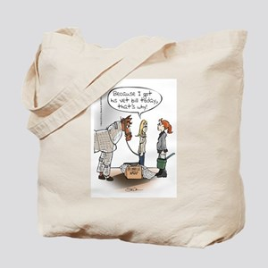 Horse Health Bubble Wrap Tote Bag