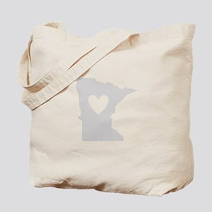 Heart Minnesota Tote Bag