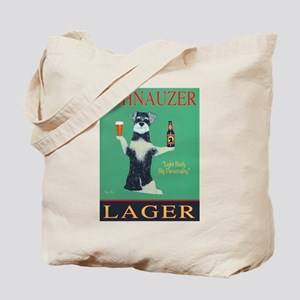 Schnauzer Lager Tote Bag