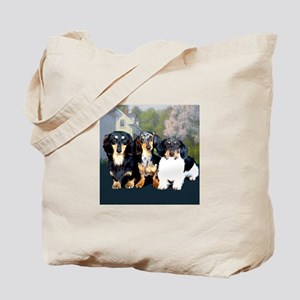 Sweet Doxie Group Tote Bag