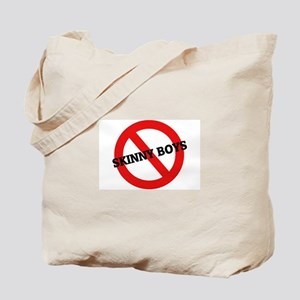 Anti-Skinny Boys Tote Bag