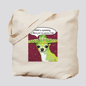 Killer Chihuahua Tote Bag