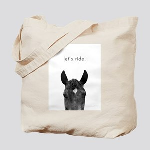 Let's Ride print by Ed Wood Tote Bag