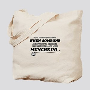 Munchkin breed designs Tote Bag