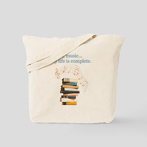 fdd20112a850 Music Canvas Tote Bags - CafePress
