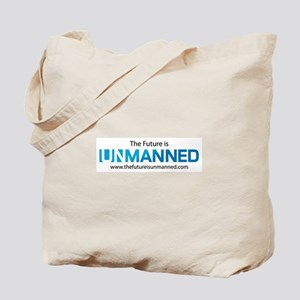 The Future is Unmanned Tote Bag