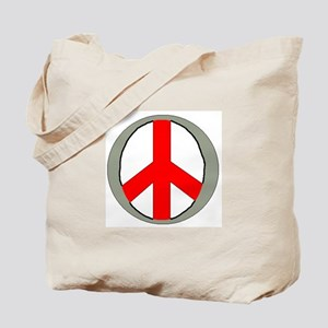 """International Peace Symbol"" Tote Bag"