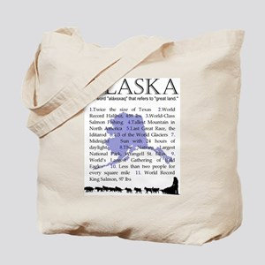 Alaska Gifts Tote Bag