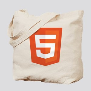 HTML5-Orange Tote Bag