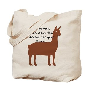 80a14275797d Drama llama Tote Bag