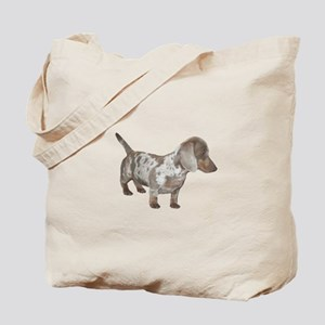 Speckled Dachshund Dog Tote Bag