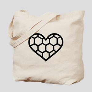 Handball heart Tote Bag