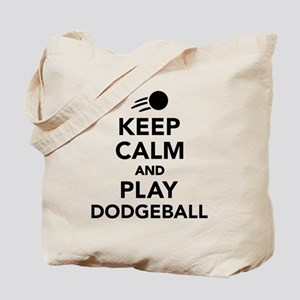Keep calm and play Dodgeball Tote Bag