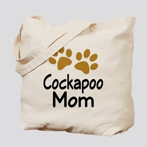 Cute Cockapoo Mom Tote Bag