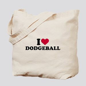 I love Dodgeball Tote Bag