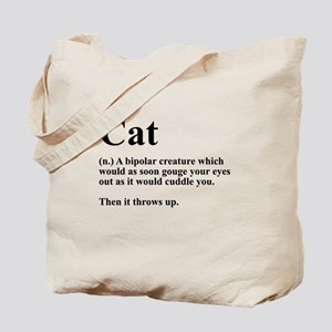 Cat Definition Tote Bag