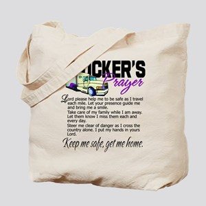 Trucker's Prayer Tote Bag