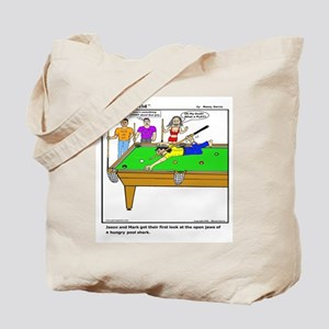 POOL SHARK AT HIS BEST! Tote Bag