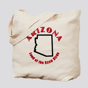 Arizona Snow Birds Tote Bag
