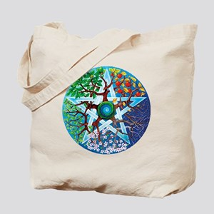 2-20061229-pentacle-seasons Tote Bag