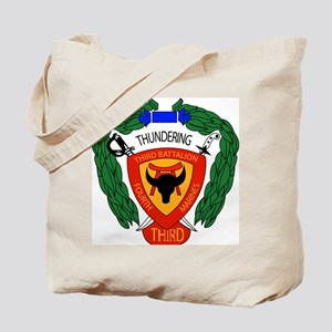 SSI-4TH MARINE RGT-3RD BN Tote Bag