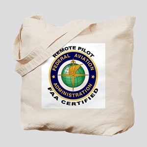 FAA Certified Remote Pilot Tote Bag