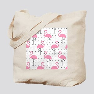 Cute Flamingo Tote Bag